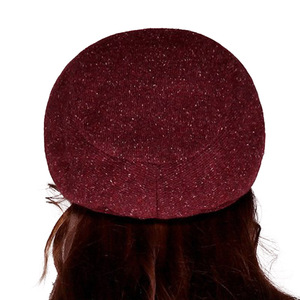 Image 4 - FS Women French Wool Felt Beret Hat Flat Cap Autumn Winter Female Vintage Caps Fedora Chapeu Feminino Boina Mujer Invierno