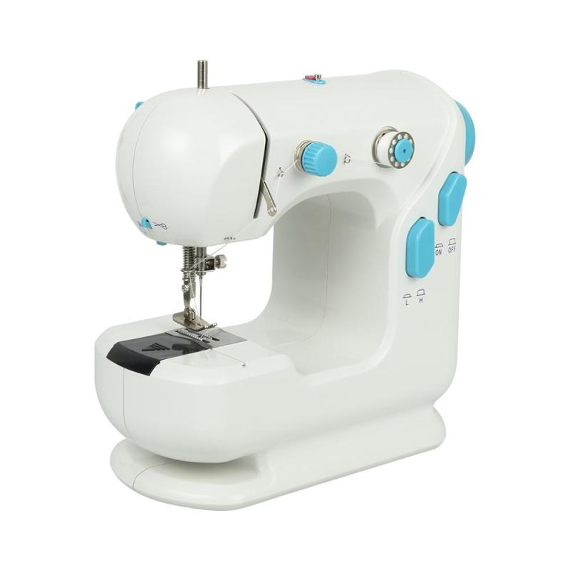 Mini Electric Sewing Machine Household Garment Domestic DIY Sartorially Children Clothing mini Sewing machine With LED #15