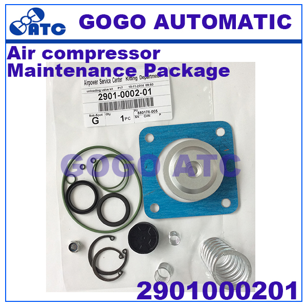 High quality Maintenance Package 2901000201 Repair parts Air compressor Unloading valve maintenance package