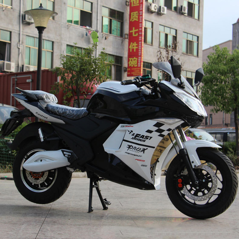 Adult electric motorcycle <font><b>scooter</b></font> electric bike <font><b>3000w</b></font> electric motor electric motorcycles max speed 85km/h 72V image