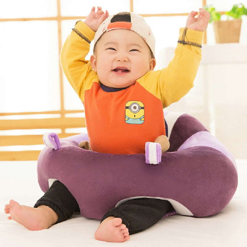 Cotton Soft Baby Learning To Sit Chair New Version Baby Seats & Sofa Baby Support Seat For Baby Training Learn Walking Sitting