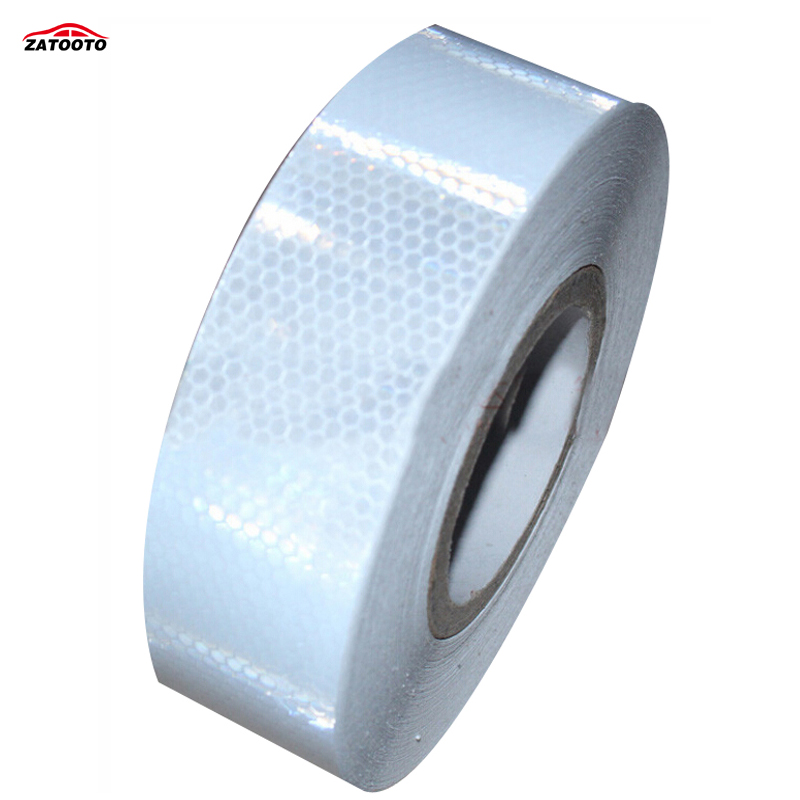 """2""""*164' Conspicuity Tape Reflective Safety Truck Trailer Car Reflective Safety Warning Conspicuity Roll Tape Film Sticker-in Reflective Strips from Automobiles & Motorcycles    1"""