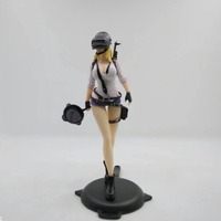Playerunknown's Battlegrounds Eat Chicken Action Figure 180MM Game WINNER CHICKEN DINNER Sexy Girl Ver. Model Toy