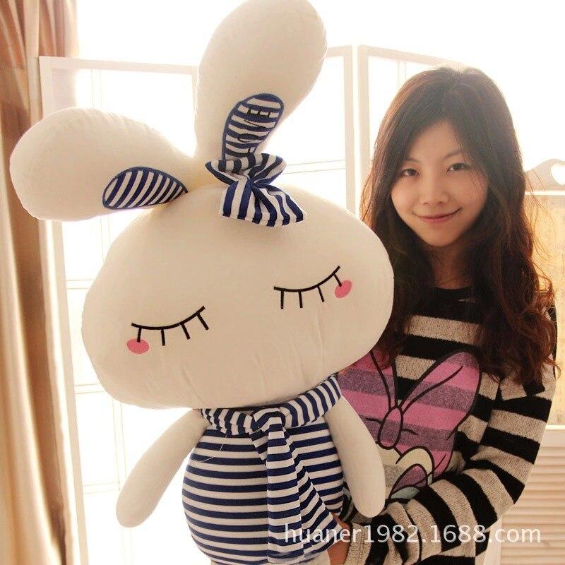120 см Прекрасный мультфильм кролик любовь плюшевые игрушки укомплектованы Мягкие плюшевые куклы для детей подарок на день рождения большая...