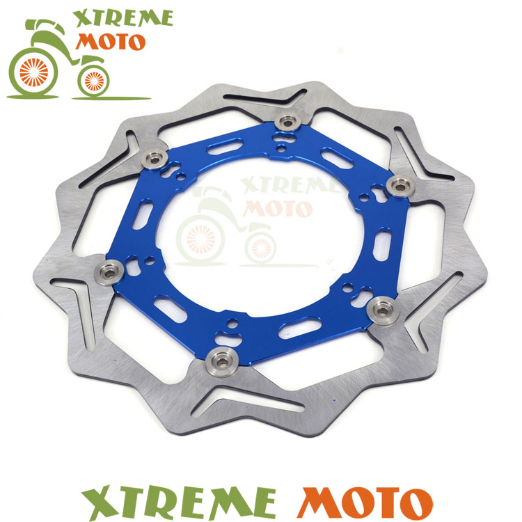270MM Front Floating Brake Disc Rotor For Yamaha YZ250 YZ250F YZ426F YZ450F WR250 WR250F WR426F WR450F Motorcycle Dirt Bike high quality 270mm oversize front mx brake disc rotor for yamaha yz125 yz250 yz250f yz450f motorbike front mx brake disc