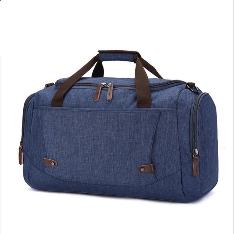 Sac de voyage en Nylon grande capacité hommes bagages à main voyage sacs de voyage en Nylon sacs de week-end femmes sacs de voyage multifonctions qq016