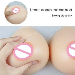 Image 5 - ONEFENG LTD pechos artificiales de silicona para travestis Drag Queen, forma de gota de agua, suaves, formas de pecho artificiales, 500 1600g