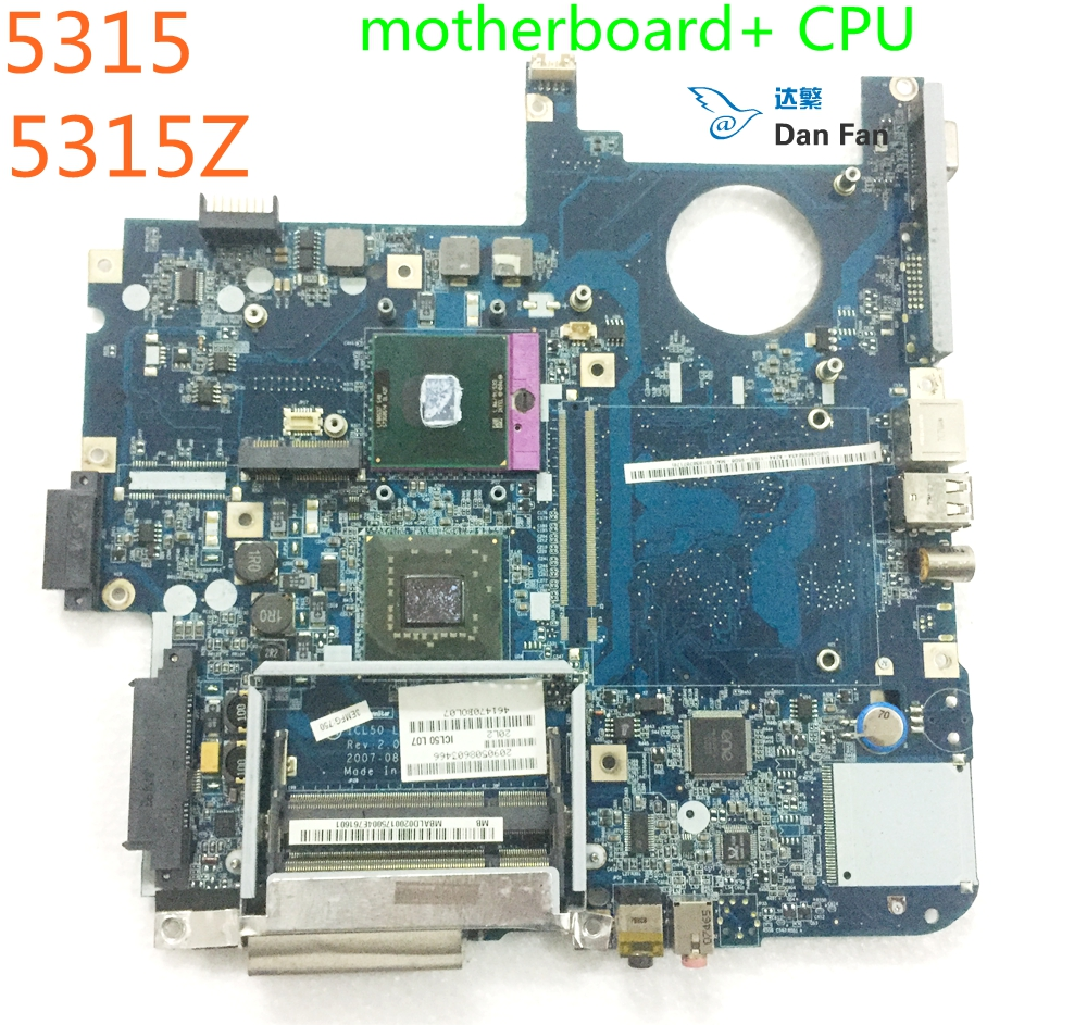 MBALD02001 For ACER Aspire 5315 5715 5315Z 5715Z Laptop Motherboard ICL50 LA-3551P Mainboard 100%tested Fully Work
