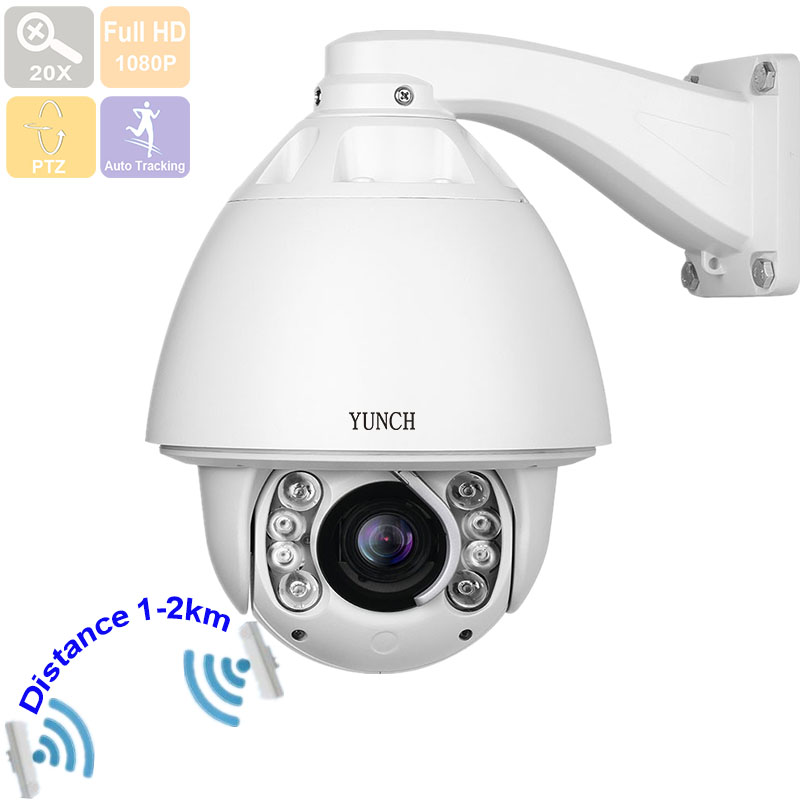 Powerful 20X optical zoom 1080P 2MP WiFi outdoor PTZ IP Camera wireless POE high speed Dome security IR 150m with wiper CCTV cctv ip camera 20x optical zoom blue iris full hd 1080p auto tracking ptz ip camera with wiper ir 150m high speed dome camera