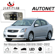 Jiayitian камера заднего вида для Nissan Sentra 200 SE B16 MK6 2007 ~ 2012 CCD Ночное видение резервного копирования камеры номерной знак камеры