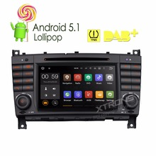 7″ Android 5.1 OS Special Car DVD for Mercedes-Benz CLS-Class W209 2004-2005 & CLK-Class W209 2004-2005 & C-Class W203 2004-2007