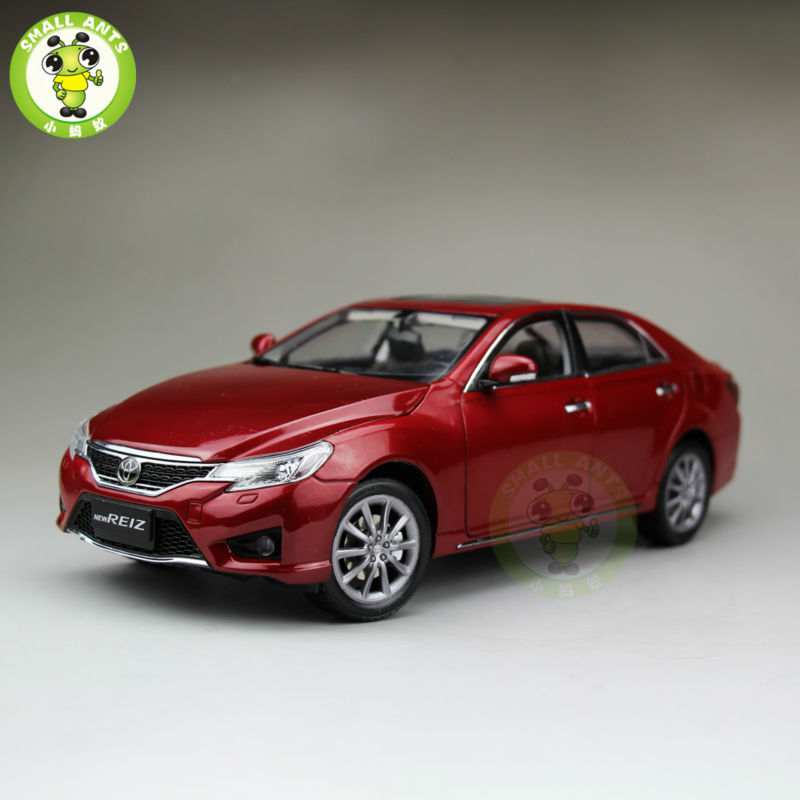 1:18 Toyota REIZ 2014 MARK X Diecast Car Model Red Color LIMITED 5000PCS jaguar ножницы xenox gl 2 вида 1 шт 27160 6 15 5cm
