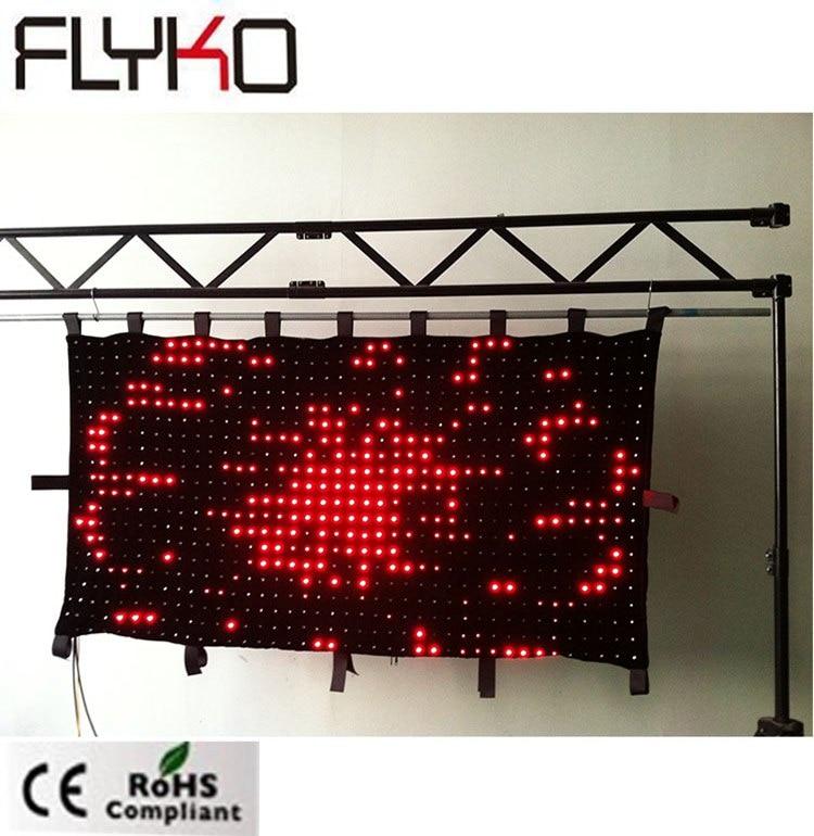 P50mm dj éclairage en vente 3ft x 6ft projecteur full hd haute résolution dmx led rideau - 6