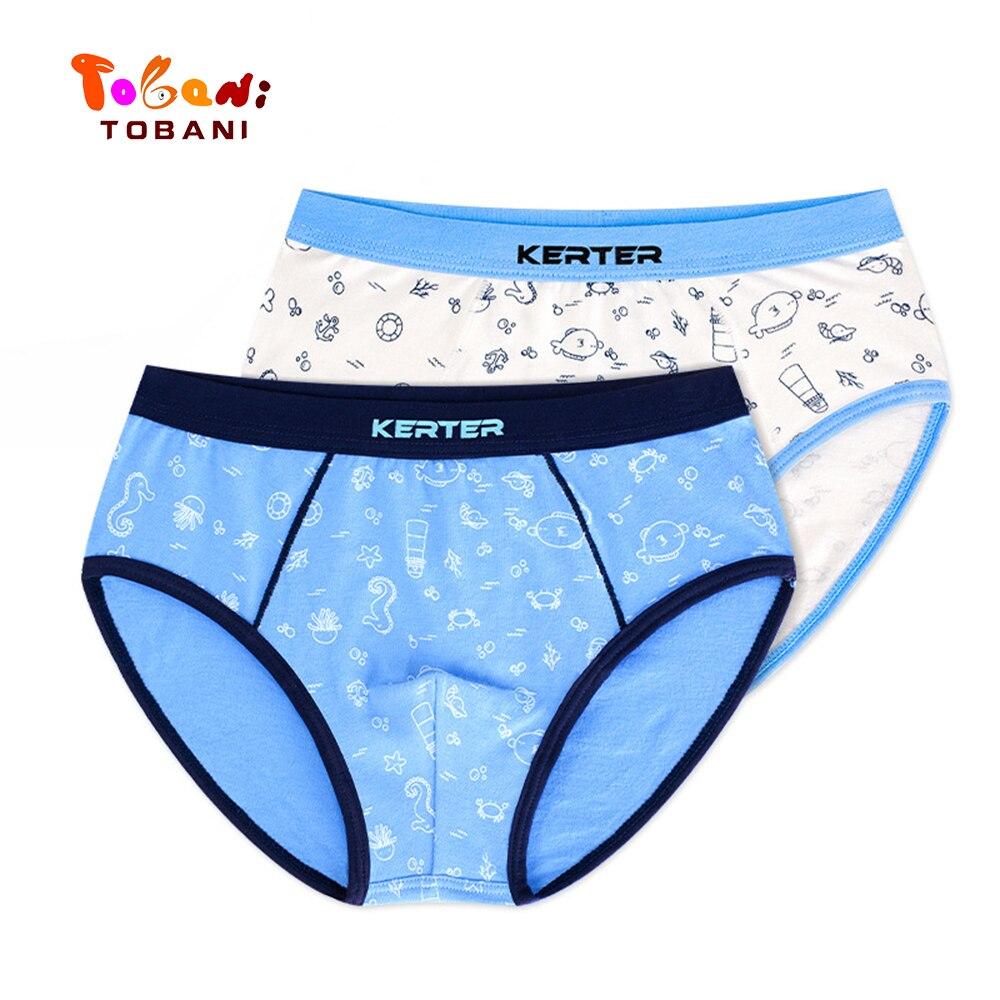 boys panties children underwear  triangle pure cotton boys underpants angle boys underpants baby shorts Tobani 2pcs 4
