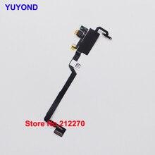 YUYOND oryginalny nowy czujnik zbliżeniowy wymiana kabla Flex dla iPhone X 5 sztuk hurtowych