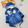 2016 casaco de inverno menino com capuz crianças qualidade superior wadded jaqueta/parkas casaco com capuz do inverno do bebê menino da roupa do bebê da criança outerwear