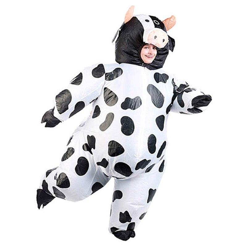 2017 nowy nadmuchiwane winia kostium krowa maskotki kostium halloween kostiumy karnawaowe holiday party dress up - Halloween Costume Cow