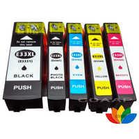 5 pz Compatibile EPSON XP635 XP-635 T3351-T3364 cartuccia di Inchiostro Per Expression Premium XP 635 Printer