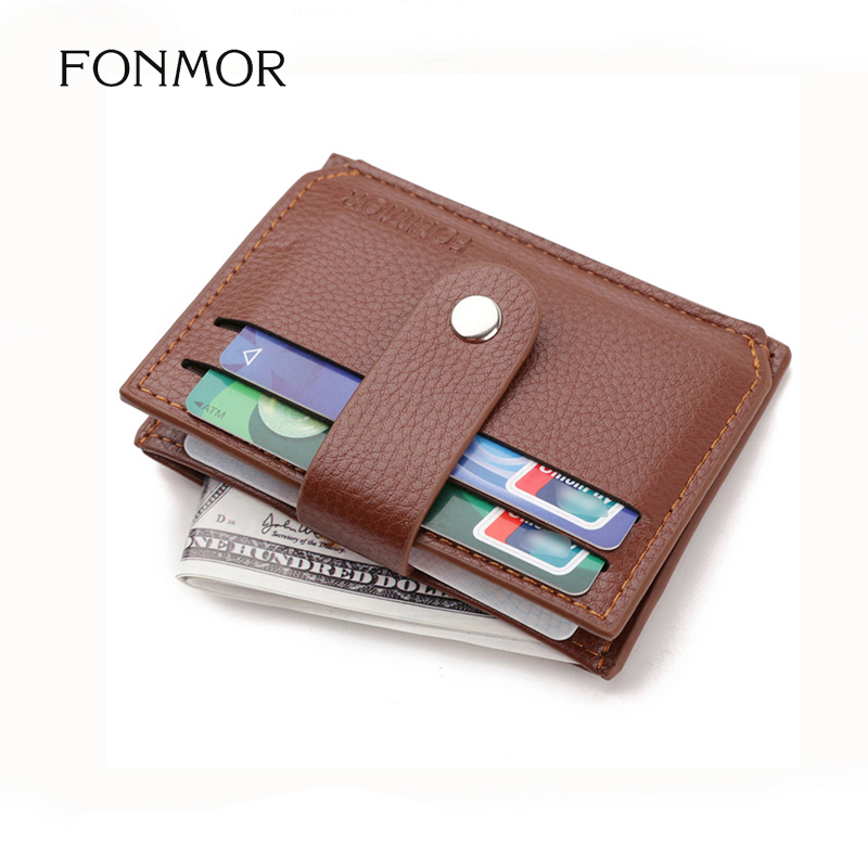 Business Men Credit Card Bag Zipper & Hasp Multifunction Coin Purse High Quality PU Leather Coin Wallet ID Holders недорго, оригинальная цена