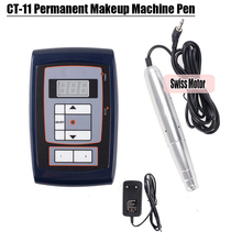 Permanent Makeup Machine Eyebrow Makeup Kits Lips Rotary Swiss Motor Tattoo Machine Kit