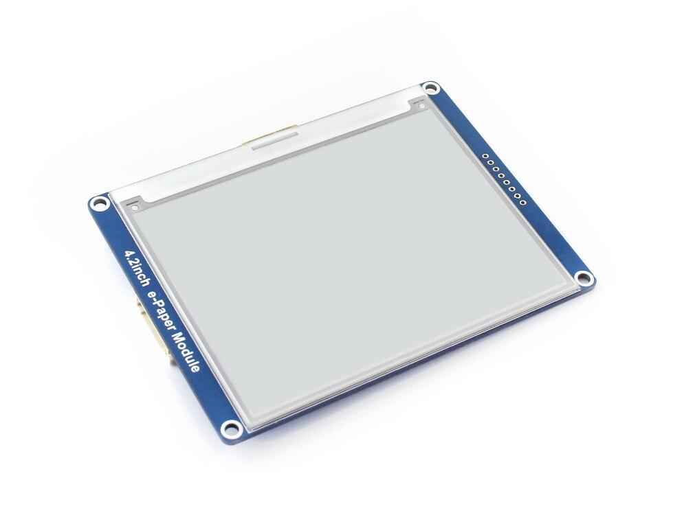 Waveshare 4.2inch E-Ink display black/white e-Paper with SPI interface supports Raspberry Pi/Arduino/Nucleo/STM32 3.3V/5V