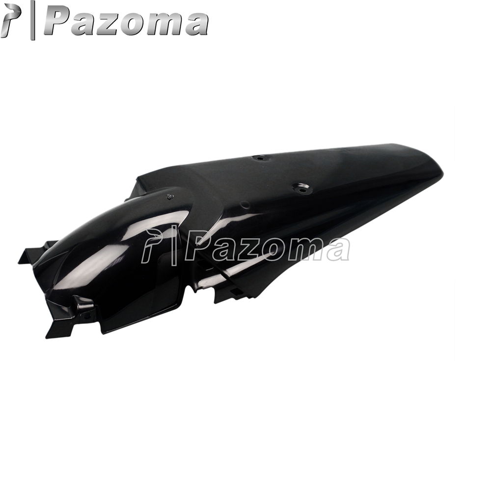 PAZOMA Free Shipping Universal Plastic Motorcycle Supermoto Rear Fenders FOR Honda XR 250 R XR 400R PLASTIC Black  Лобовое стекло