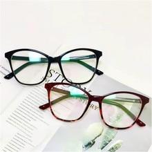 Оправа для очков в стиле кошачьи глаза женские ретро черные прозрачные оптические очки оправа для очков Gafas oculos прозрачные поддельные очки