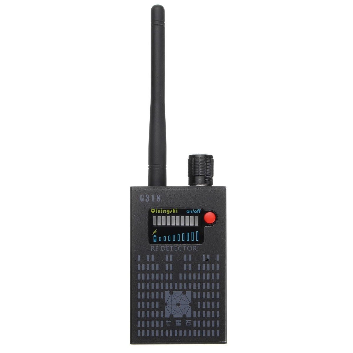 G318 Multi function Anti spy Wireless Signal Bug Detector Anti Candid Camera GPS Location Finder Tracker Frequency Scanner