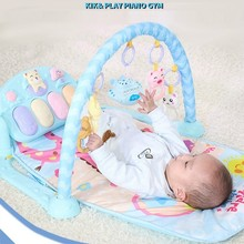 Infant  Animal Cartoon Fitness Frame Pedagota Baby bedding Crawl Pad Music Blanket Crawl Pad Baby bed Toys huile toys 82721 baby toys infant crawl beetle electric toy bee ladybug with music