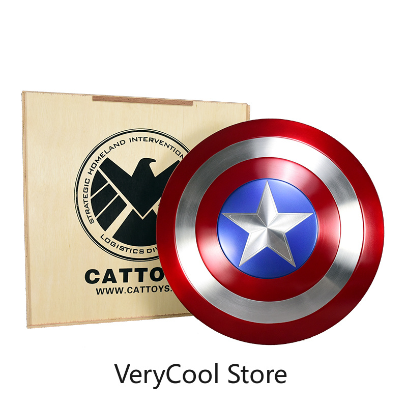 [Metal Made] CATTOYS 1:1 AVENGERS Captain America Shield Replica&Prop Perfect Version COLLECTION GIFT[Metal Made] CATTOYS 1:1 AVENGERS Captain America Shield Replica&Prop Perfect Version COLLECTION GIFT