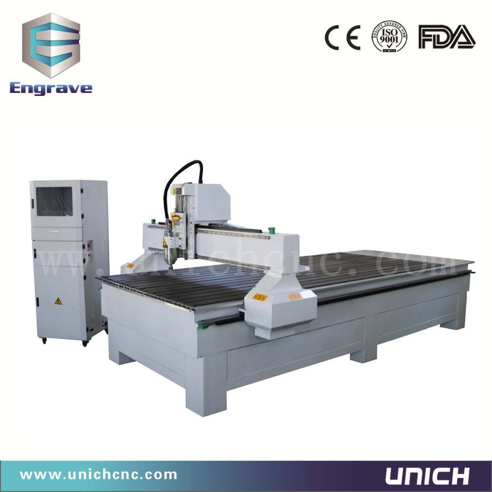 Economic unich 3D wood carving cnc router machine for furniture door chair  leg/3 axis cnc machine price