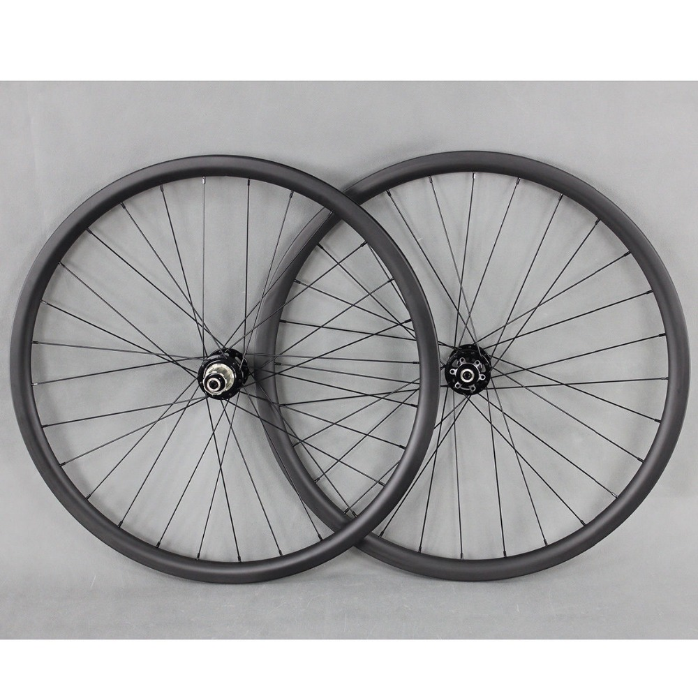 29er tubeless Clincher wheelset Full carbon Mountain bike MTB 29ER wheel rims 28/32 26er wheels 27.5er carbon fiber MTB wheels