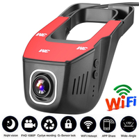 Vehicle Recorder car dvrs mirror USB DVR Mini HD 1080P Front Tachograph Digital Camcorder Dash Camera 170 degree Night Version