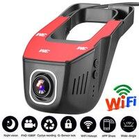 Vehicle Recorder car dvrs mirror USB DVR Mini HD 1080P Front Tachograph Digital Camcorder Dash Camera 170 degree Night Version