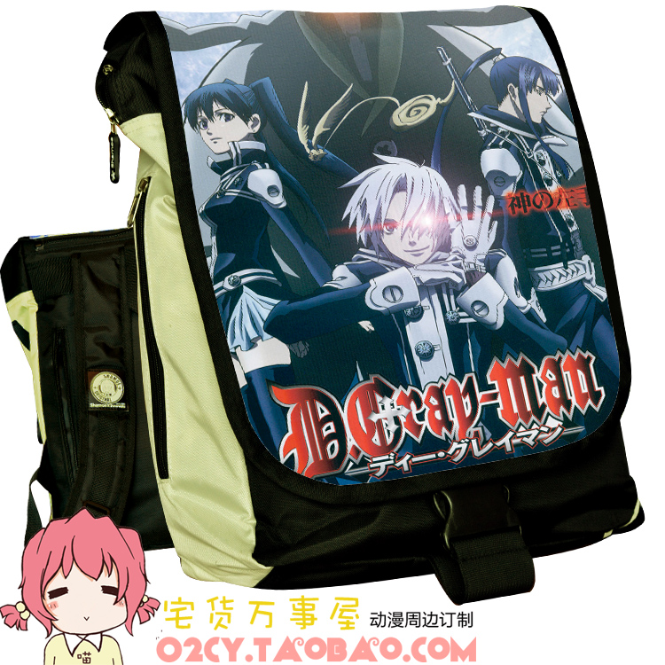 Anime D.Gray-man Cosplay Anime backpack student campus backpack child birthday present anime naruto cosplay uzumaki naruto cos anime man and woman backpack child birthday gift