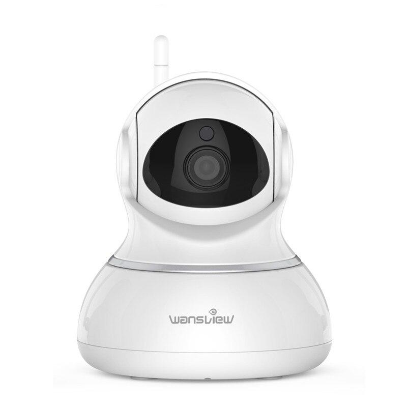 Wansview Sans Fil IP Caméra WiFi Accueil Surveillance de La Sécurité Intérieure CCTV Caméra Moniteur Pan/Tilt à Deux Voies Audio et nuit Vision P2P