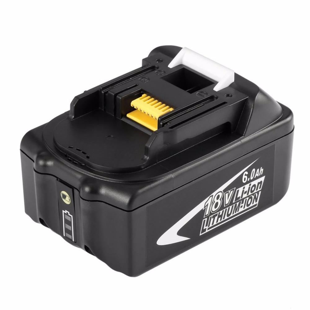 Portable 18V 6AH 6000mAh Li-Ion Battery Replacement Power Electronic Tool Easy to Handle for MAKITA BL1860 laptop battery for asus x552 x552cl x552e x552ea x552ep x552l x552ld x552vl x552la 15v 2950mah 44wh li ion oem