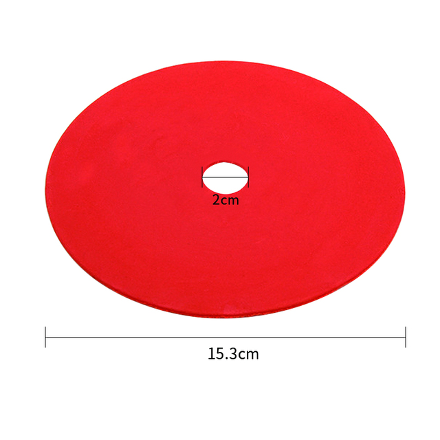 5pcs Football Field Flat Marker Disc