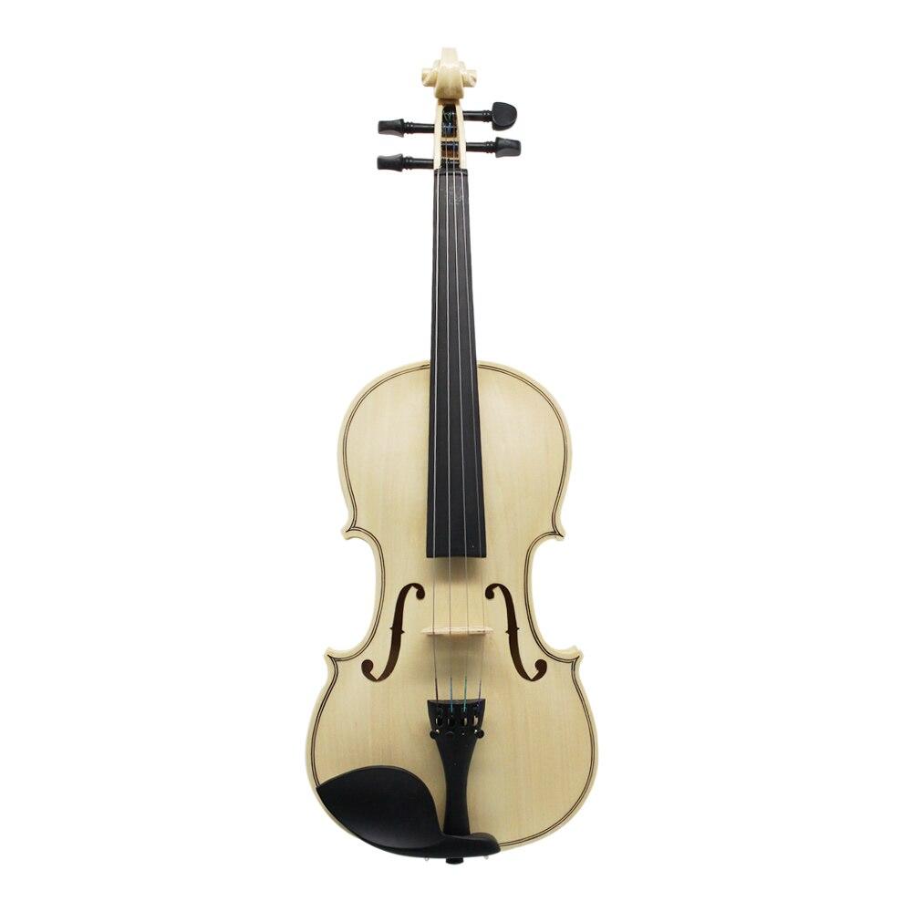 Bow Rosin Shoulder Rest Mute Strings Log Color Acoustic Violin Violino Viola 4/4 3/4 1/2 1/4 1/8 for Beginner Students