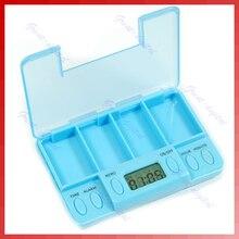 Multi-Alarm Timer Pills Reminder Medicine Box Tablet