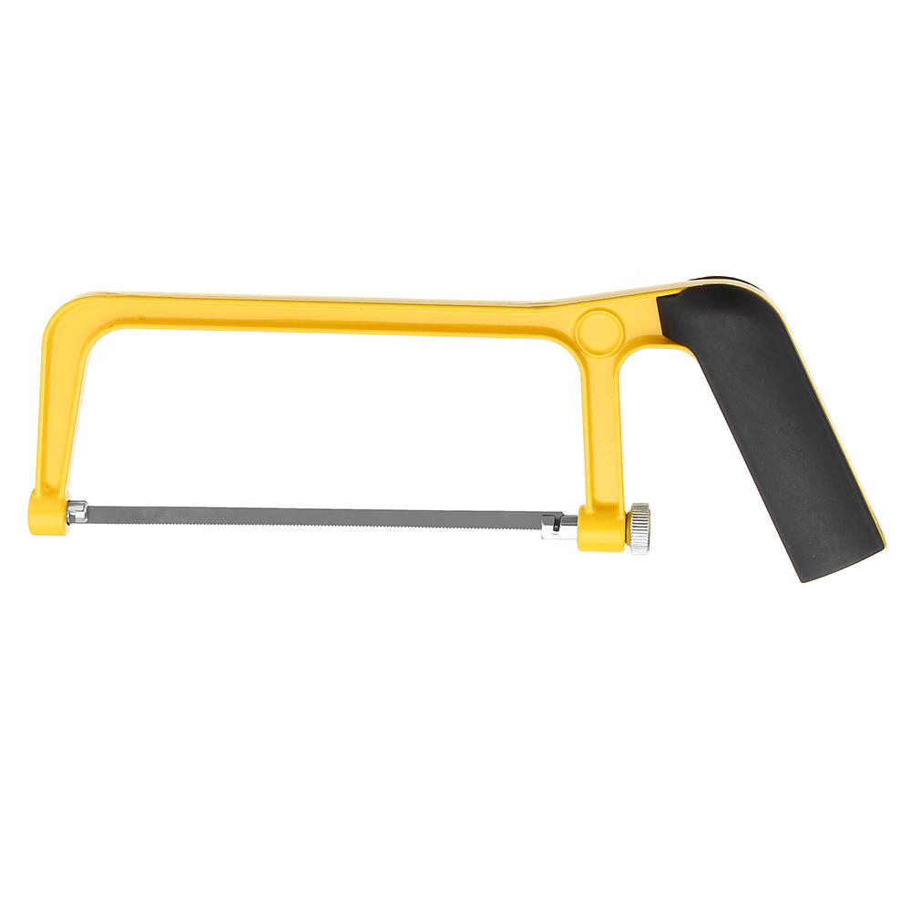 Image 5 - ALLSOME 6 Inch 150mm Saw Blade Plastic Handle Mini Saw Frame Hacksaw Rack for Woodworking HT2416 2417+-in Saw Blades from Tools
