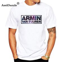 0e2432e836b Armin Van Buuren A State Of Trance Tees Shirt Men Plain Custom Short Sleeve  XXXL Couple