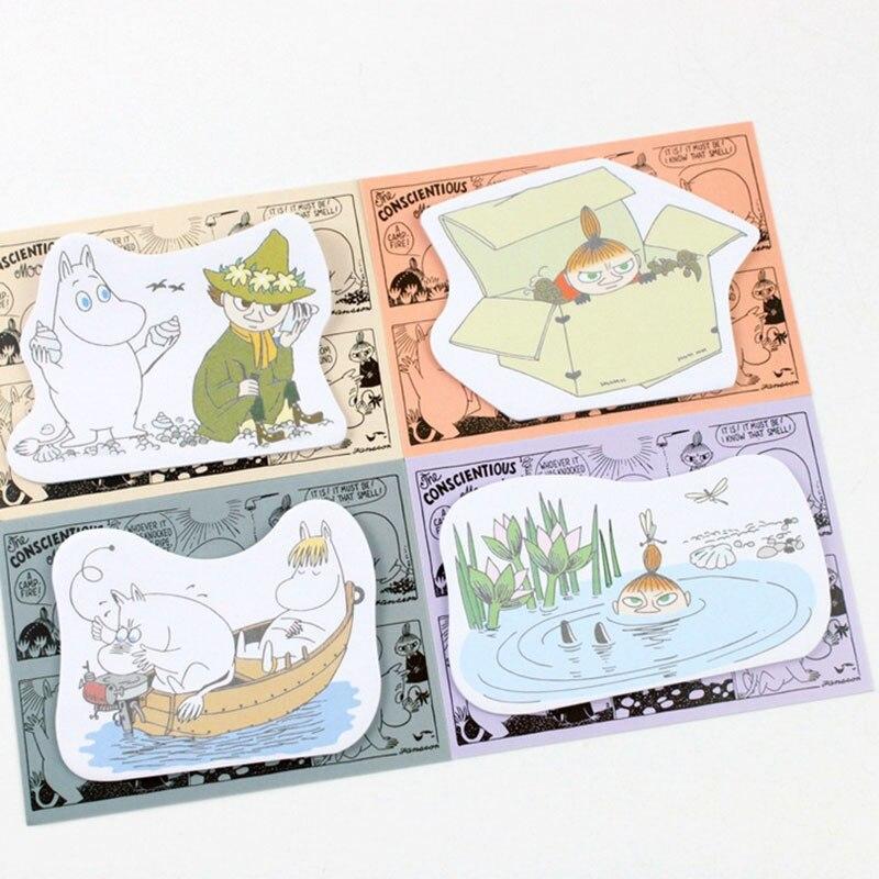 four pcs/lot Classical Chinese language fashion memo pad paper sticky notes submit notepad stationery papeleria faculty provides children reward HTB186doNVXXXXbrXpXXq6xXFXXXB