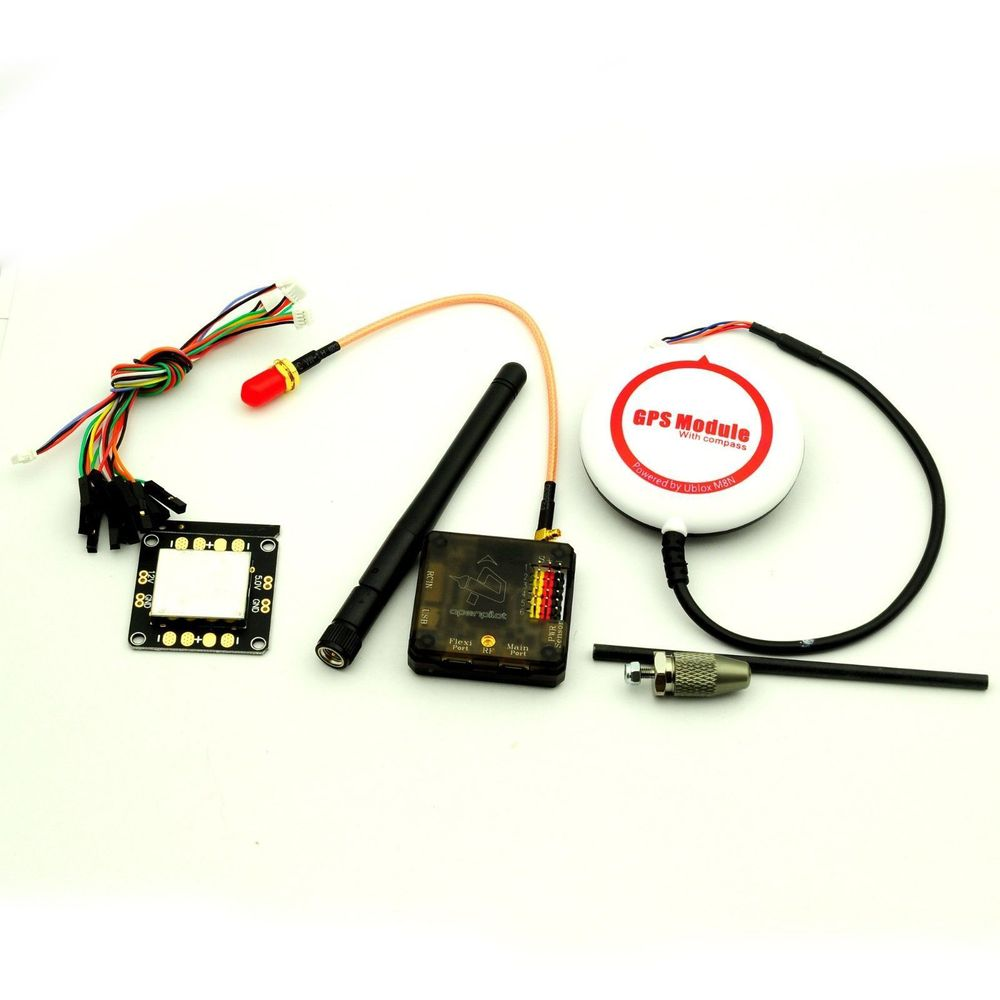 OpenPilot CC3D Revolution Flight Controller & NEO-M8N GPS & Distribution Board naza m v2 flight control