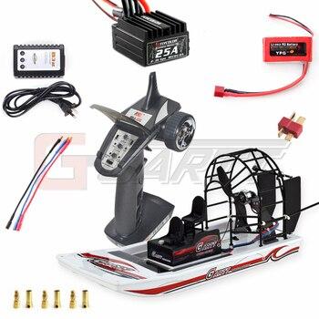GARTT Высокое скорость болото Dawg RC Air лодка Комплект Новый COMBO 1 Дистанционное управление игрушечные лошадки пляж воды Снежный для детски