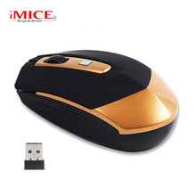 hot deal buy imice wireless mouse 2.4ghz ergonomic mouse 4 buttons usb pc mice wireless receiver optical computer mice for laptop desktop