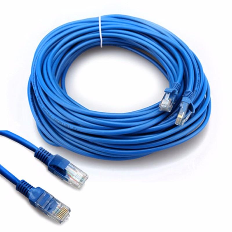 65FT RJ45 Ethernet-kabel 1 Mt 3 Mt 1,5 Mt 2 Mt 5 Mt 10 Mt 15 Mt 20 Mt 30 Mt für Cat5e Cat5 Internet LAN Netzwerk Patchkabel Kabel für PC Computer