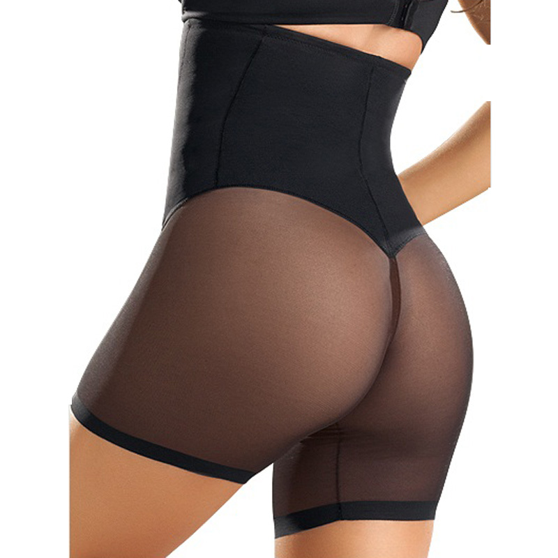 28e408050e3f3 Ladies Sexy Lace Patchwork Butt Lifter With Tummy Control Panties Women  Waist Bodycon Corsets Cincher Body