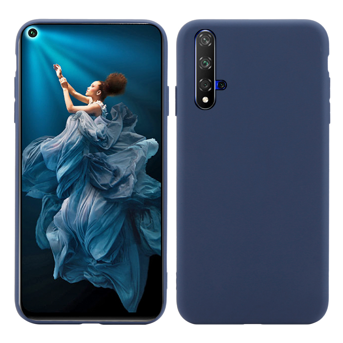 For Huawei Honor 20 Pro Case Silicone Candy Color Anti-Scratch Matte Soft TPU Slim Cover Honor20