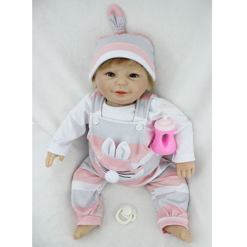 55cm Silicone Vinyl Baby Reborn Dolls lifelike baby dolls Handmade Kids Toys Children BJD Doll Reborn Bonecas Collection Doll tang dynasty shangguan wan er 12jointed doll 31cm high end handmade chinese costume dolls limited collection bjd 1 6 moveable